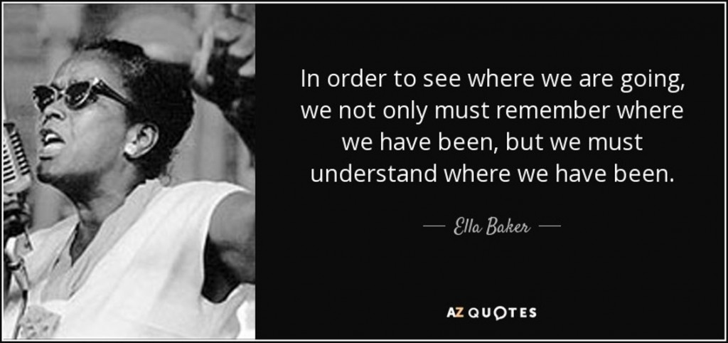 Quote from Ella Baker